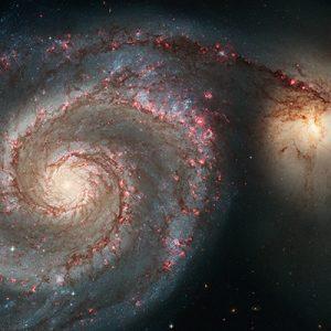 HST image of M51