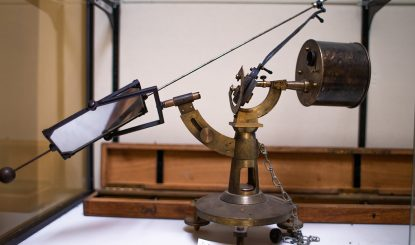 rusty astronomy instrument