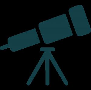 icon of telescope